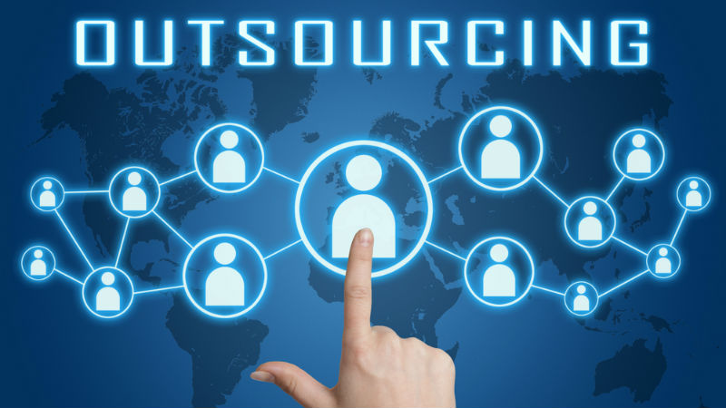 benefit by outsourcing